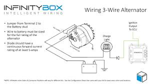 stunning gm 4 wire alternator wiring diagram gallery new 1 alternator wiring diagram internal regulator at Alternator Wiring Diagrams