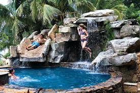 backyard pool with slides. Backyard Pool With Slide Slides Australia Spa By Lucas Lagoons In Sarasota Florida E