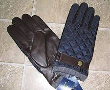 Polo Ralph Lauren Men's Driving Gloves & Mittens | eBay & Men's $78 (XL) POLO-RALPH LAUREN Quilted Navy/ Brown Leather Field Gloves Adamdwight.com
