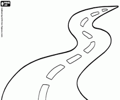 Small Picture Travelling by road coloring pages printable games