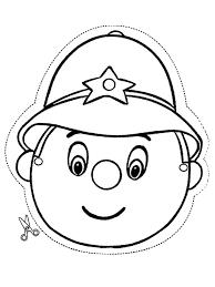 Politie Agent Knutselen Maskers