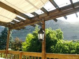 fabric patio shades. Perfect Shades Shades Pergola Fabric Patio Shade And Lights  Retractable Systems Throughout Fabric Patio Shades C