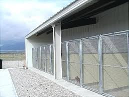 multiple stainless steel dog kennel systems kennels building