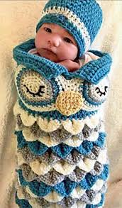 Free Owl Cocoon Crochet Pattern Enchanting Ravelry Newborn Owl Cocoon Hat Olive Pattern By Ava Girl Designs