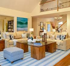 Nautical Living Room Design Beach House Living Room Beach Theme Decor Themed Rugs Decorate