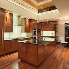 hardwood floors and kitchen cabinets