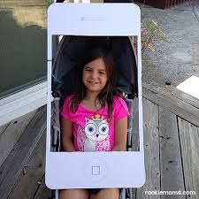 iphone costume. iphone tutorial: halloween stroller solution iphone costume r