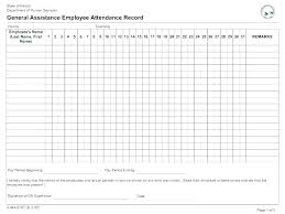 Attendance List Form Attendance List Form Sample Training Example Template Gbooks