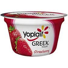 yoplait greek yogurt strawberry 5 3 oz cup