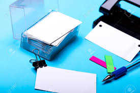 side view office set. Set Of Stationery For Office: Hole Puncher, Box With Blanks, Binder Clip, Side View Office A