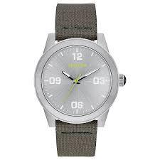 Купить кварцевые <b>часы</b> женские <b>Nixon G.i. Nylon</b> Silver/Surplus в ...