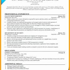 Federal Resume Template Interesting Federal Resume Guidelines Vast Federal Resume Example Elegant