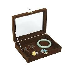 jewelry box with lock small bracelet jewelry box with glass cover pendant receive a case necklace