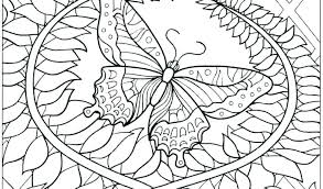 Butterfly Coloring Pages For Toddlers Contentparkco