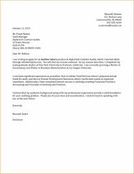 Cover Letter Writing A Cover Letter For An Internship Cover