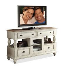 Amazon Riverside Furniture Coventry Two Tone Tall TV Console