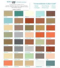 Kool Deck Color Chart Zhuojun Info