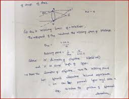we can explain that the resolving power of a telescope is directly proportional to aperture of the lens and inversely proportional to wavelength of the
