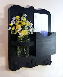 wall mounted mail holders mail organizer mail and key holder letter holder key hooks jar vase