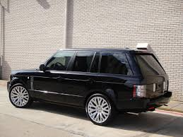 2010 Range Rover Supercharged on 22