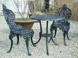 cast iron bistro set appealing cast iron bistro table and chairs best images about cast iron