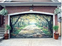 garage door paint painting garage door of the most awesome garage door murals in painting a garage door paint