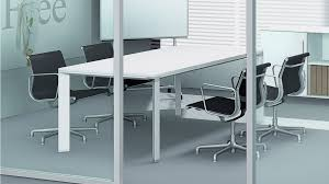 small office conference table. Adorable White Conference Table Tables Glass Captivating Lacquered Mdf Materials Aluminum Legs Rectangle Shape Small Office