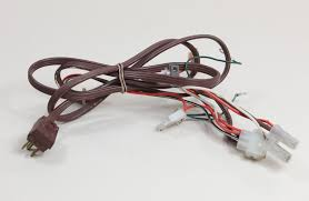 ge fridge refrigerator power cord wire harness assembly wr23x10301 ge fridge refrigerator power cord wire harness assembly wr23x10301