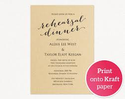 dinner template rehearsal dinner invitation template wedding templates