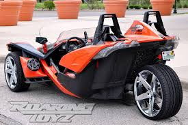 custom 24 wheels now available for polaris slingshot along with