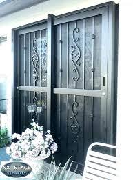 burglar proof sliding glass doors protect sliding glass door burglary home design s india