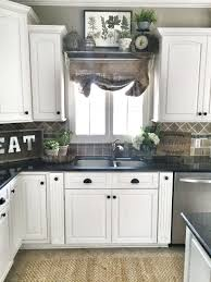 Soffit Above Kitchen Cabinets Elegant Farmhouse Window Decor What To