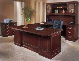 office furniture desk vintage chocolate varnished. decoration traditional executive office furniture the to support your work as desk vintage chocolate varnished n