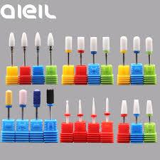 <b>Ceramic Milling</b> Carbide <b>Nail Drill</b> Bits <b>Manicure Machine</b> Burr ...
