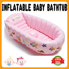 extra thick inflatable baby bathtub