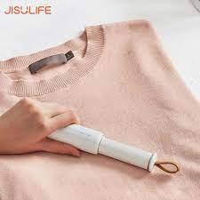 Máy hút bụi quần áo cầm tay không dây dạng thanh nhỏ gọn - Tự động hút dính  tóc xơ len xơ vải nhanh chóng Jisulife LN01