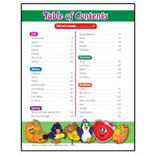 table of contents for kids unique contents theme1 with table of contents for kids
