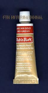 Grecian Gold 76301e Amaco Rub N Buff Uncarded Wax Metallic Finish Crafts
