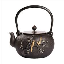 japanese tea sets teapots teapot warmers tea for iron kettle cast iron kettle handmade uncoated copper lid tea set 1300 ml by teasets for