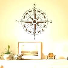 nautical compass wall decor nautical compass wall decor compass wall decor nautical compass wall decal office vinyl wall sticker art nautical compass rose