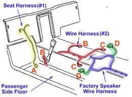 fiero speaker holes speaker car wiring diagram