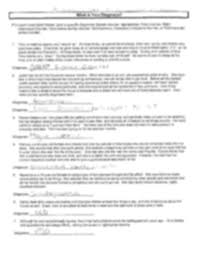 Psych 401 Worksheet - NAME Understanding Operant Consequences ...