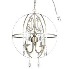best of orb crystal chandelier or decor 4 light silver globe sphere orb crystal chandelier 28