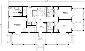 3 Bedroom Rectangular House Plans