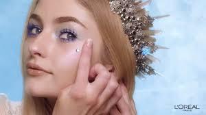 l oréal ice queen makeup tutorial ad mercial on tv 2018