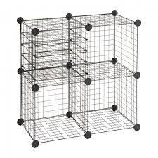 wire cube shelving guinea pig grids wire cube shelving units
