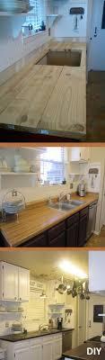 Diy Kitchen Counters Best 20 Kitchen Counter Diy Ideas On Pinterest Diy Kitchen