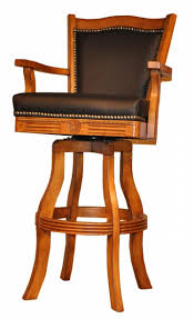 leather bar stools with arms. Bar Stools Swivel Chairs With Arms Leather Back And A