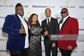 Honoree Wells Davis, Stefanie Smith, honoree Max Stinson and Brandon...  News Photo - Getty Images