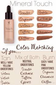 Younique Shade Chart Which Younique Foundation Is Right For You My Younique Life